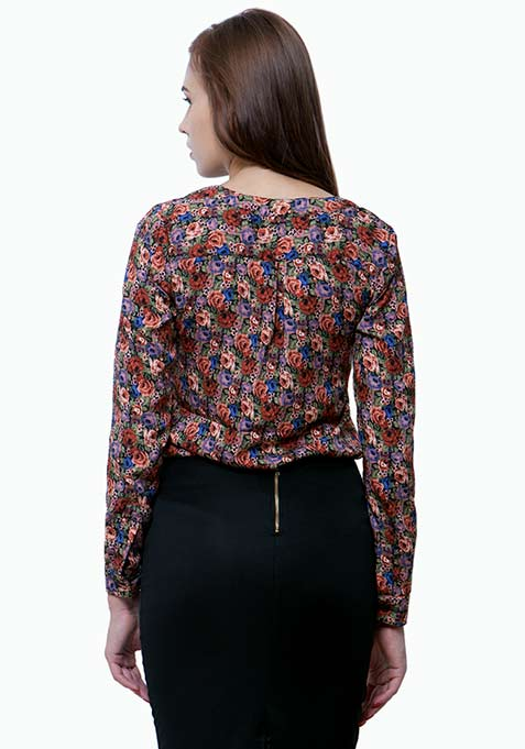 Ditsy Days Floral Shirt