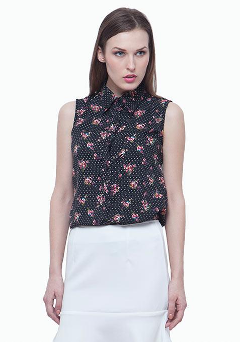 Floral Polka Dot Shirt