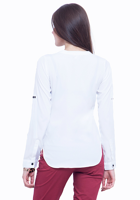 Pied Piper Shirt - White
