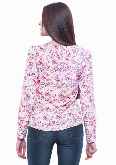 Pink Bliss Floral Shirt