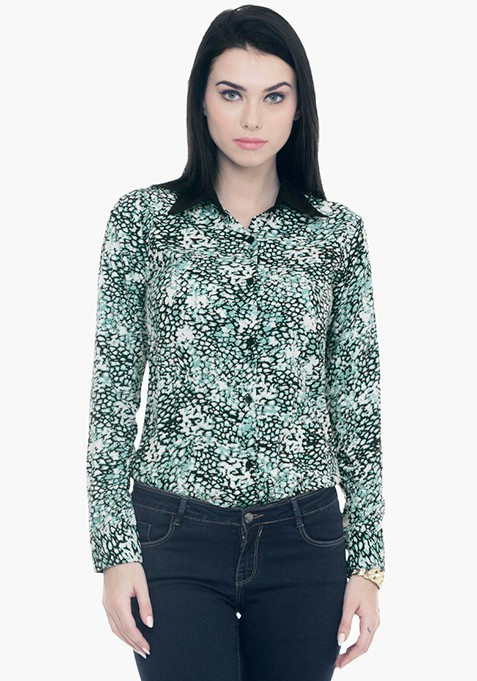 Wild Side Shirt - Green