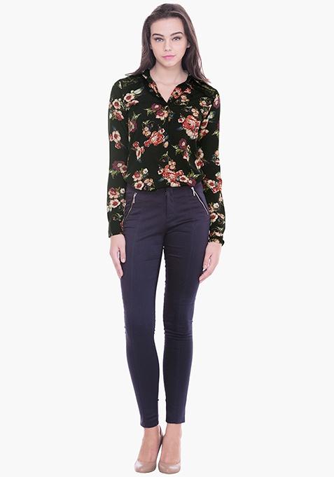 Lace Coven Shirt - Floral