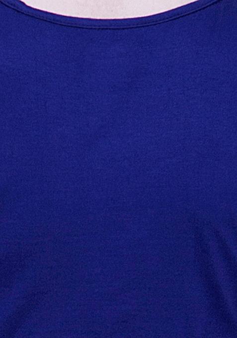 BASICS Cowl Back Cami - Blue