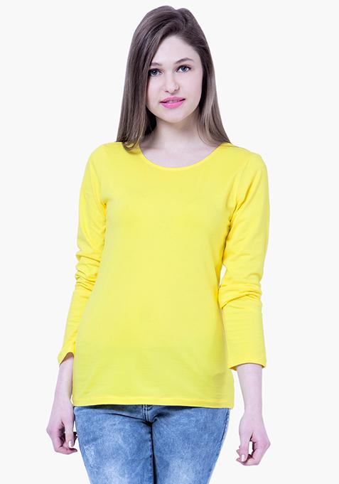 BASICS Yellow Jersey Tee