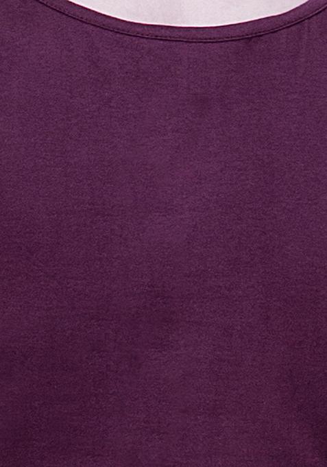 BASICS Tank Top - Purple
