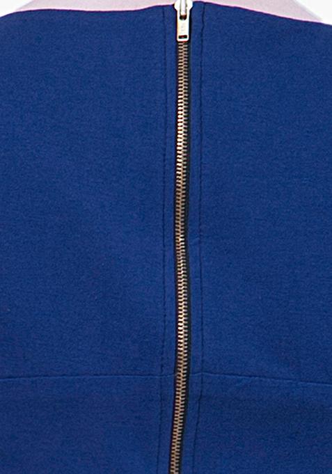 BASICS Crop Top - Blue