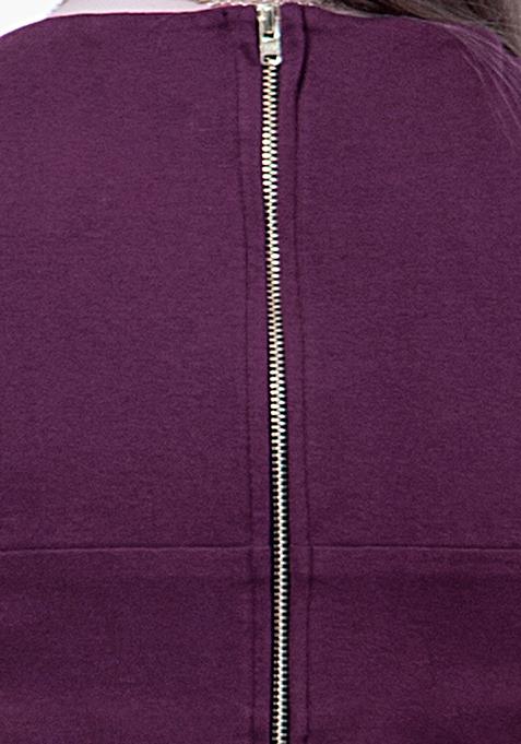BASICS Crop Top - Purple
