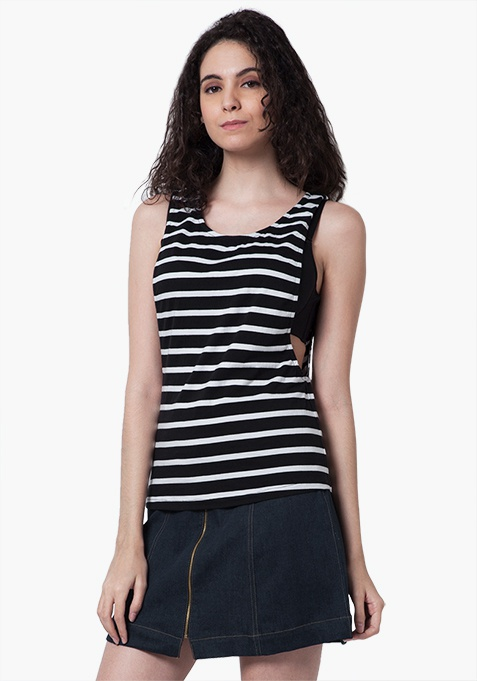 Edge Out Tank - Stripes