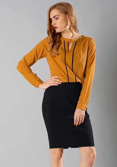 Mustard Maven Shirt