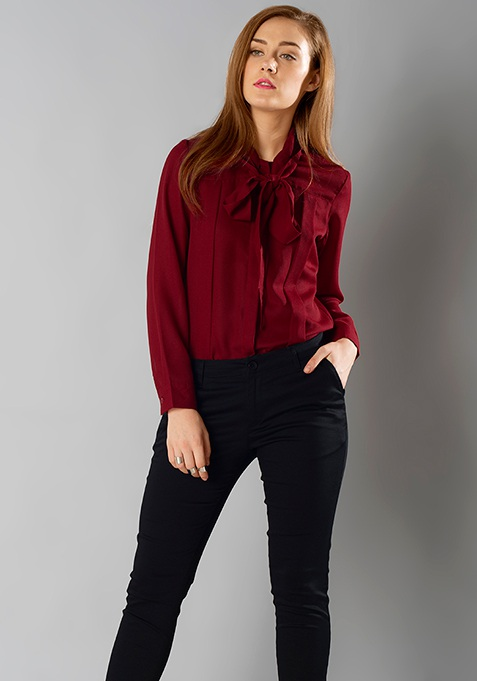 Red Bow Shirt