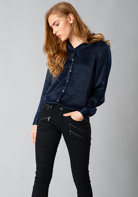 Classy AF Shirt - Navy