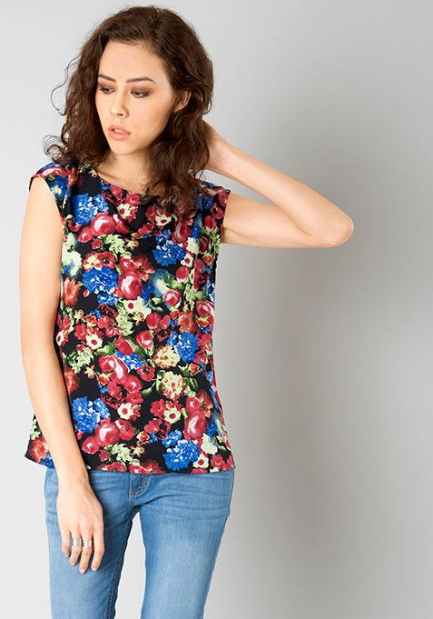 Floral Melee Blouse