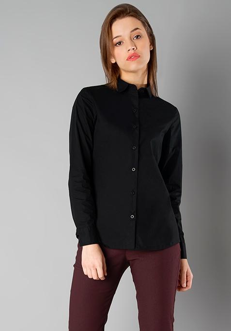 CLASSICS Slim Fit Shirt - Black